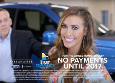 Tallahassee Ford – No Payments Until 2017